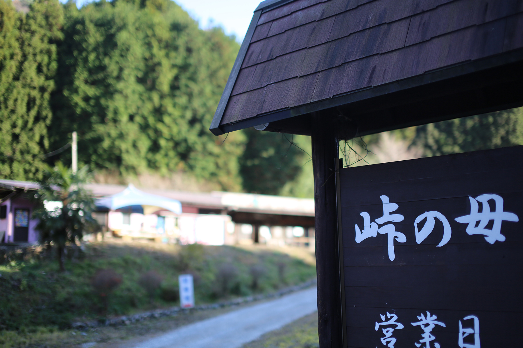 "Shop on the pass ""Toge-no-Mori"""