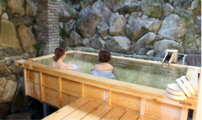 "Yuki Hot Spring Private Rental Open-Air Bath ""Masa-no-hinokiyu"""